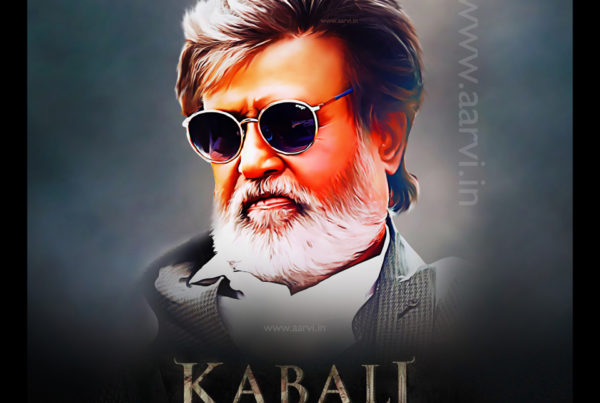 Aarvi Kabaali_Rajanikanth_Digital_PaintingKabali_Aarvi