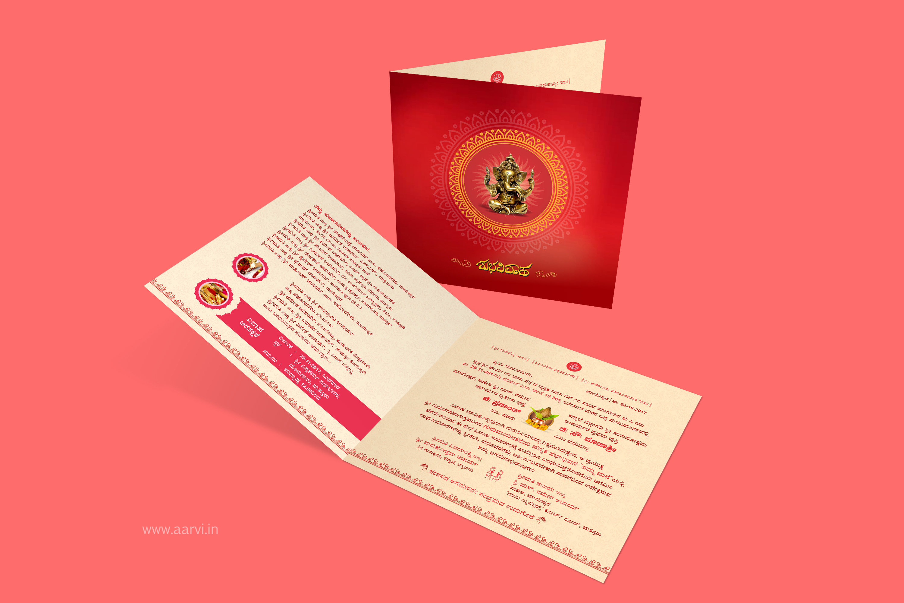 Creative Wedding Invitation | Aarvi Intergraphics